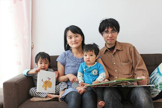 風と太陽と家族を繋げる家